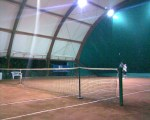 Papà al tennis....